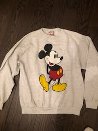 Mickey Mouse Vintage Crewneck Sweater Vaughan, L4J 7N4