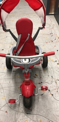 toddler's red and grey trike Fairfield, 94533