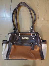 Two tone ladies purse