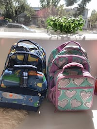 Pottery Barn Kids backpack w/lunch box