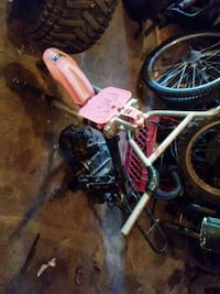 Pit bike frame with parts engine(doesnt run) Hackettstown, 07840