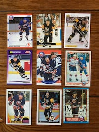 9 Bryan Trottier hockey cards.  Northport, 11768