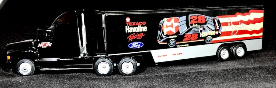 Davey Allison Texaco Havoline 1/64 Winross Hauler Transporter #19. New 558c8db3-1fa1-45fa-a086-09738762243c