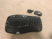 Logitech wireless mouse and ergonomic keyboard Washington, 20003