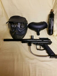 Paint ball gun completed set Surrey, V4N 0W7