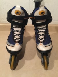 Size 7 K2 Power A SoftBoot Rollerblades