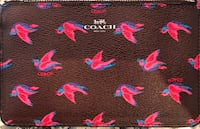 Coach Happy Bird Wristlet Washington