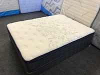 Queen One Sided Pillow Top Set  Norwalk