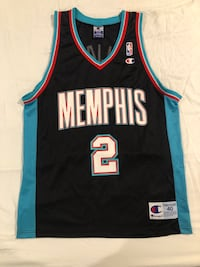 Vintage Champion Jason Williams Memphis Grizzlies Jersey Size M Essex, 21221