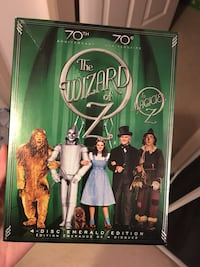 The Wizard of Oz 4-disc emerald edition case Burnaby, V3J