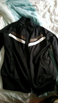 black and white zip-up jacket Moncton, E1G 2J1