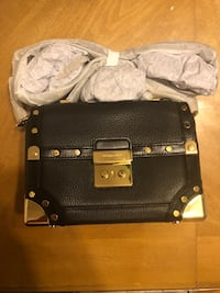 Michael kors cori small leather crossbody