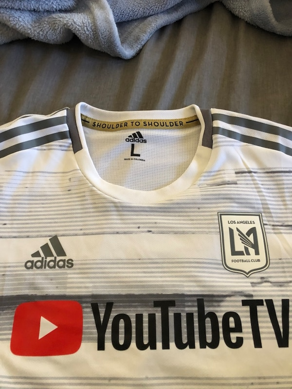 newest 3eab5 d51ba 2019 adidas LAFC Away Authentic Jersey