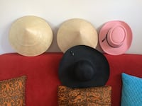 4 Hats, each one $5
