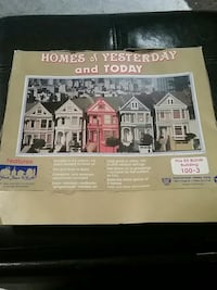 Homes of Yesterday and Today Model Kit 100-3 Costa Mesa, 92626