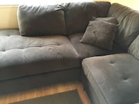 upholstery Brown sofa including ottoman Fremont, 94538