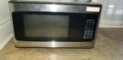 Hamilton Beach Stainless Steel Microwave New Condition