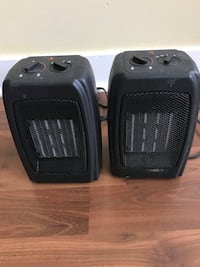 two black space heaters Halifax, B3P 1G2