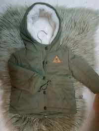 babyens grå zip-up hettegenser سندنس, 4315