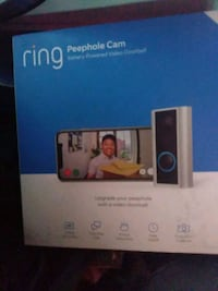 Ring peephole cam video doorbell