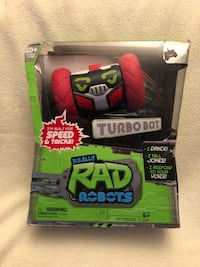 Really rad robots-remote control robot w/ voice command-turbo bot