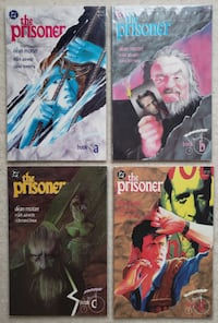 The Prisoner #1-4 complete comic series Mount Airy