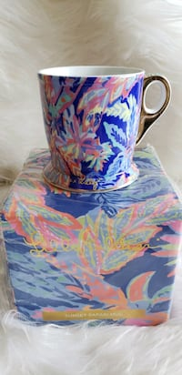 Lilly Pulitzer Ceramic Mug - Sunset Safari Print Alexandria, 22304