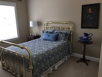 Brass Double Bed Charlotte, 28277