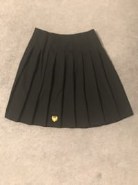 Hollyfield school uniform ~ black skirt with logo LONDON