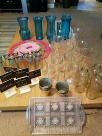 Large lot of wedding items and decor!