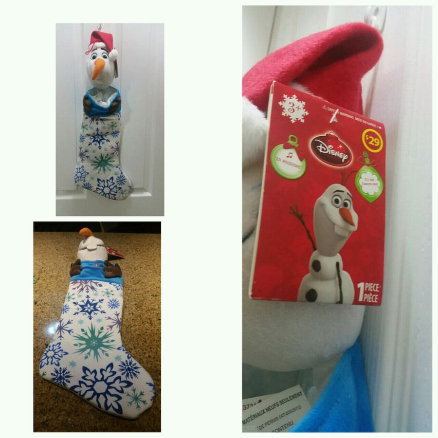Olaf musical stocking