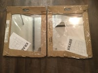 Krabb Squiggle Mirrors (2 sets).  Still in packaging Vancouver, V5Z 1R5