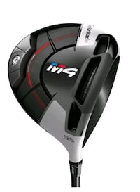 Men RH driver brand new Taylormade M 4 driver