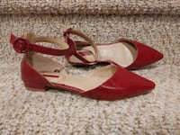 New Women's Size 7 Forever 21 Shoes Flats Maroon Color Woodbridge, 22193