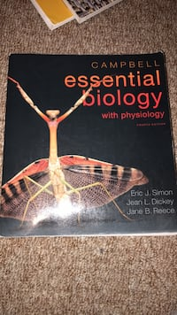 Campbell Essential Biology with Physiology 4th Edition  Los Angeles, 91344