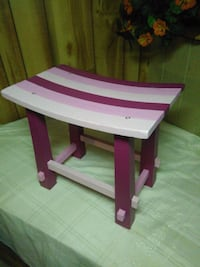 Hand Painted Bench Portage, 49002