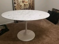 Real marble table Lutherville-Timonium, 21093
