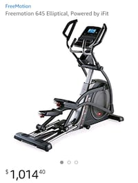 Used Freemotion 645 Elliptical, Powered by iFit for sale