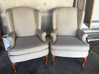 WING BACK CHAIRS *Still available*  Pacific, 63069