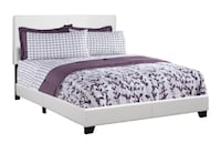 Queen Bed White Lather in *BOX* Oshawa