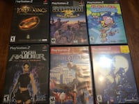 12 assorted PS2 games (Read Description for price & pickup details) North Vancouver, V7P 1S3