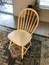 Set of four white chairs  Rockville, 20852