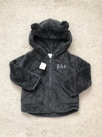 Gap toddler zip up bear hoodie size 2T- New with tags Mississauga, L5M 0C5