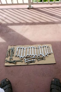 30 pics spanner set all different size Brampton, L7A 3T8