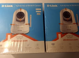 D-Link - DCS Pan and Tilt Indoor 1080p Wi-Fi Netwo