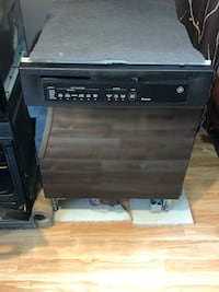 Dishwasher GE Profile Black