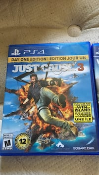 Just Cause 3 PS4 game case Lake Country, V4V 1L6