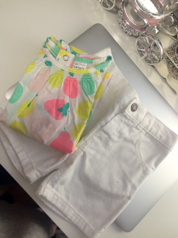 Carters summer top and shorts  175e0881-ef68-41c1-add2-0a7467b19196