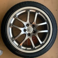 Infiniti G35 OEM wheel and tire Temple Hills