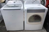 WHIRPOOL WASHER AND GAS DRYER
